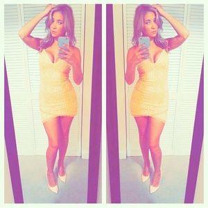 Dresses & Skirts - Neon Orange Dress